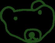 園児が描いたクマのイラスト